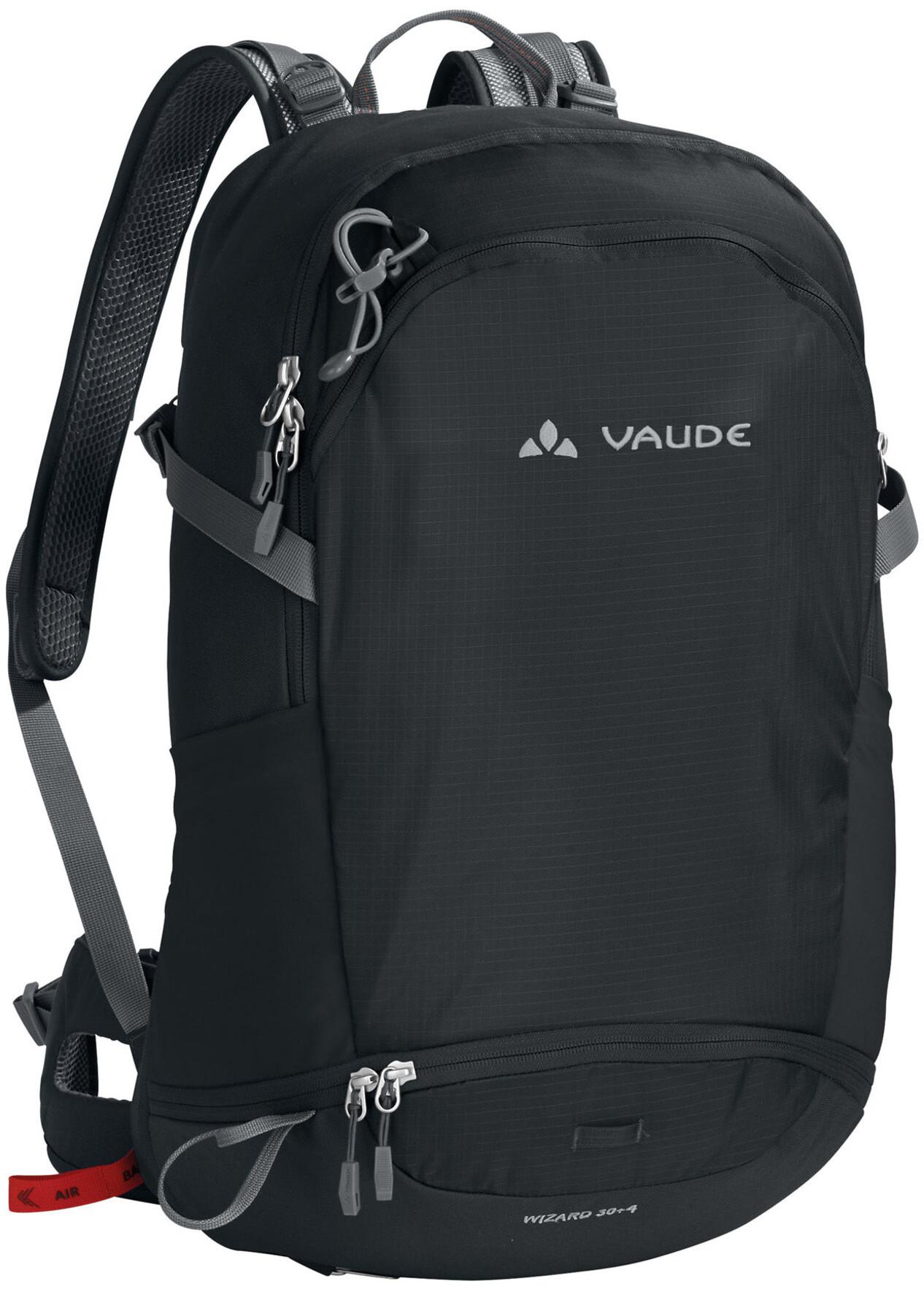 VAUDE Wizard 30+4 - Mochila - negro  f77ffd3492431